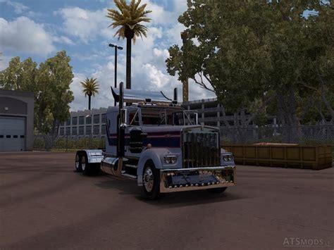 kenworth w900a kenworth w900a american truck simulator mods