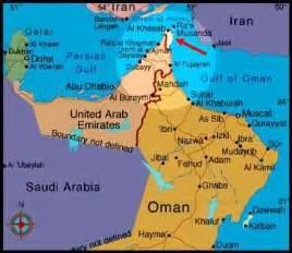 map uae and oman grade follies