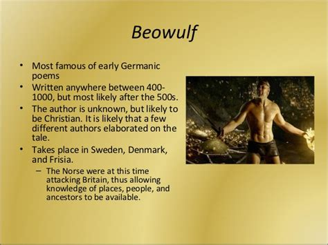 beowulf themes with quotes the anglo saxon age