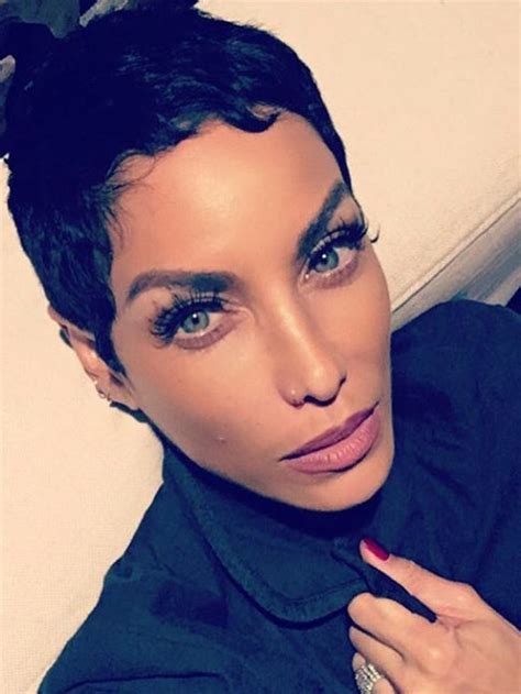 nicole mitchell short curly casual hairstyle nicole murphy hair cut 844 best sassy lil haircut images