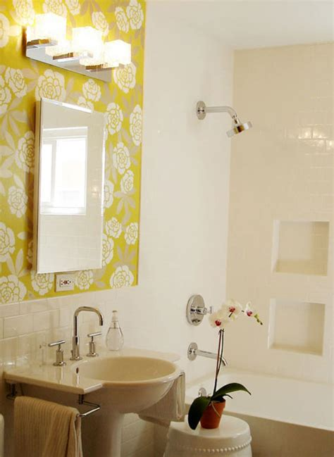 bathroom with wallpaper ideas 25 astounding bathroom wallpaper ideas creativefan