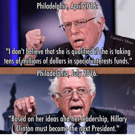 Clinton Memes - philadelphia aoril 2016 capitalist memes don t believe