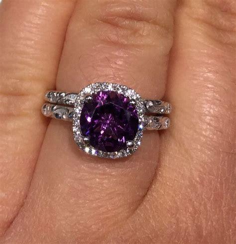 Best 25  Purple wedding rings ideas on Pinterest   Purple