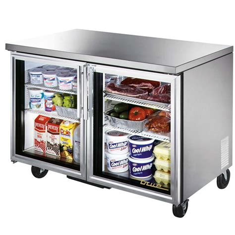 Glass Door Undercounter Refrigerator by True Tuc 48g Hc Ld 48 2 Glass Door Undercounter