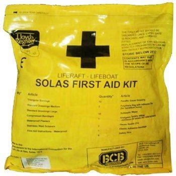 Peralatan Safety Aid Kit jual solas aid kit for liferaft or lifeboat impa