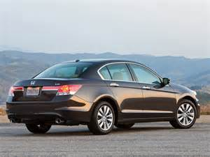 2012 Honda Accord V6 2012 Honda Accord V6 Ex L Rear Right Side View Photo
