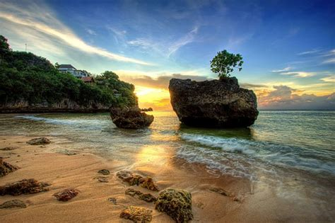 padang padang bali beach surf