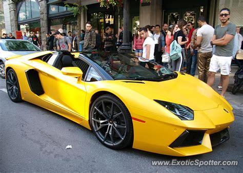 Lamborghini Aventador Price Canada Lamborghini Aventador Spotted In Montreal Canada On 06 10