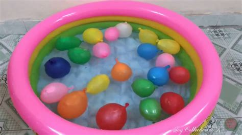color water balloons water balloons for children learn colors with water