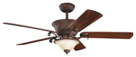 country ceiling fan 56 quot high country ceiling fan in tannery bronze with gold