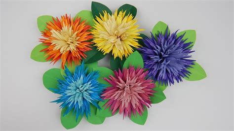 quilling table decoration asters flowers 1 diy paper