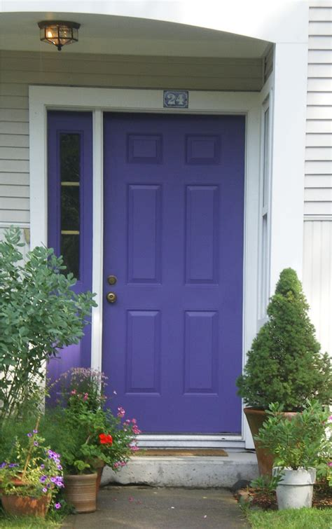 Colorful Front Doors Gi Periblue Colored Front Door 9 Riverscolorworks Design