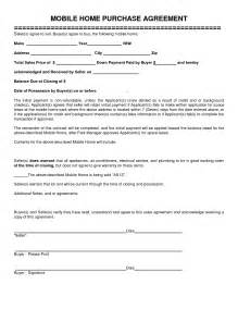 Home Purchase Agreement Template of home purchase agreement home purchase agreement form template