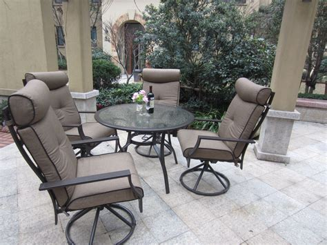 Used Patio Chair Swivel Rocker by Enjoy Your Swivel Rocker Patio Chairs The Home Redesign