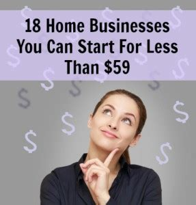 Start Business From Home by Businesses To Start Business Website