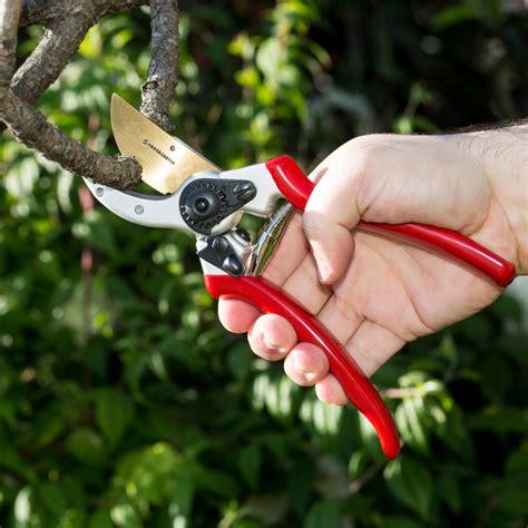 aus garten haus garten classicpro titanium bypass pruning shears