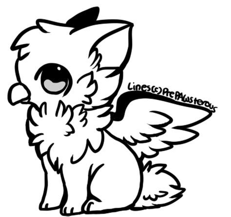 cute griffin coloring pages free use griffin lineart by prepawsterous on deviantart