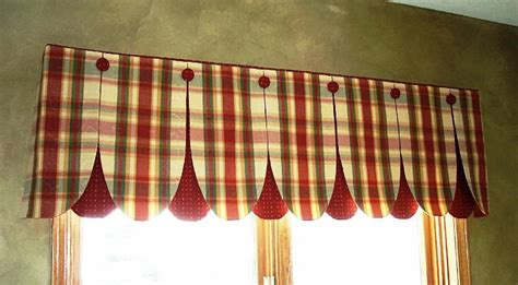 Red Valances For Kitchen Windows ? Joanne Russo