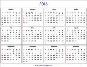 Romania Kalender 2018 Calendar Romanesc 2017 Calendar Template 2016