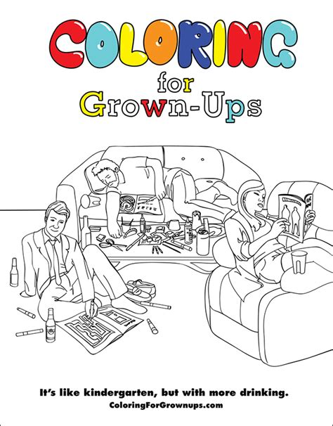 38 Pages From The Coloring For Grown Ups Activity Book