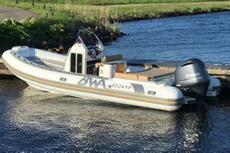gebruikte rubberboot met motor buitenboordmotor of rubberboot kopen brouwer watersport