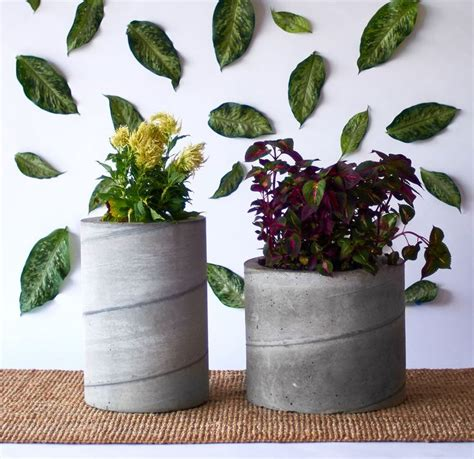 large concrete planters for sale