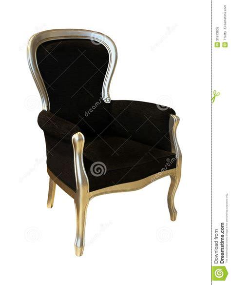schwarzer stuhl durchfall schwarzer antiker stuhl lizenzfreie stockfotos bild