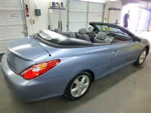 2005 Toyota Solara Convertible 2005 Toyota Camry Solara Sle Convertible For Sale In