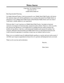 cover letter format for teaching position best cover letter exles livecareer