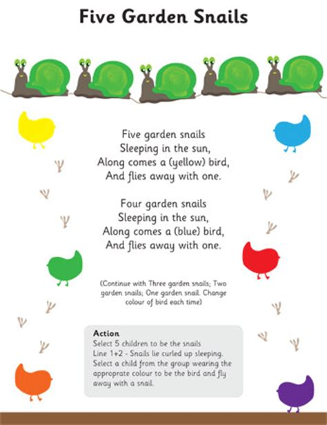 new year poems ks1 five garden snails poem eyfs ks1 poetry free early