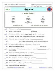 Gravity Worksheet by All Worksheets 187 Gravity Worksheets Printable Worksheets