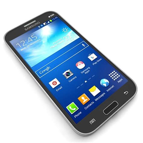 Samsung Galaxy Grand Model 3d model samsung galaxy grand 2