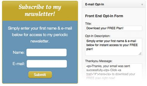 free opt in form templates coachpro a theme for coaches wellness