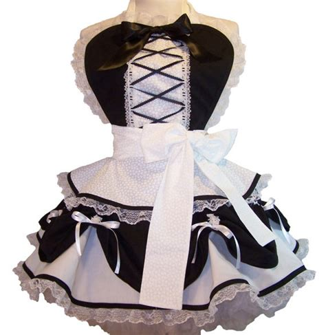 pattern for french maid apron 83 best aprons images on pinterest disney aprons