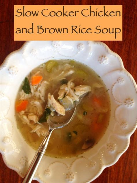 Brown Rice Detox Results by Detox Cooker Chicken And Brown Rice Soup