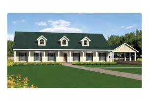 Single Story Ranch House Plans by Eplans Ranch House Plan Single Story Southern Beauty