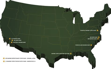 marine corps bases in the united states map the official united states marine corps website