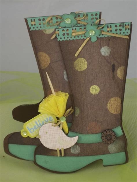 rubber boot template 33 best welly boot cards images on pinterest
