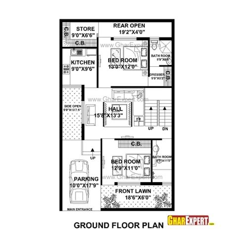 house design 15 30 feet fantastic house plan for 30 feet 50 feet plot plot size