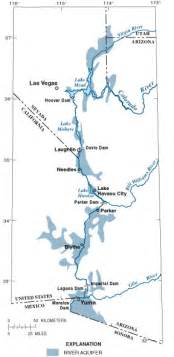 lower colorado river map