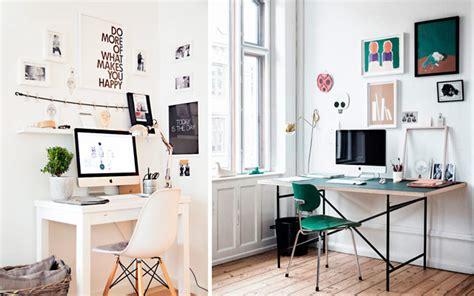 escritorios ideas ideas low cost para decorar la pared del escritorio