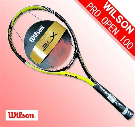 wilson blx pro open tennis racket china trading company