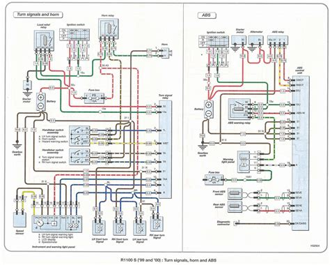 bmw r100rs wiring schematic