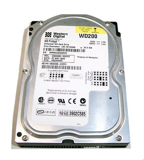 Hardisk Ata 20gb western digital wd200eb 00cpf0 prot 233 g 233 20gb ata 100 3 5 quot disk drive drives