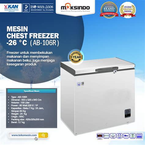 Freezer Box Di Surabaya Jual Mesin Chest Freezer 26 176 C Di Surabaya Toko Mesin Maksindo Surabaya Toko Mesin Maksindo