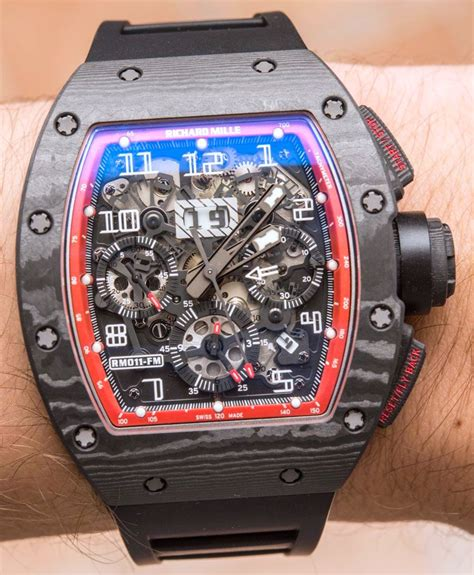 Richard Mille Rm 011 03 Rubber Steel Black Pvd Yellow Crown Ultimate swiss replica richard mille rm 011 felipe massa black ntpt carbon discover luxury