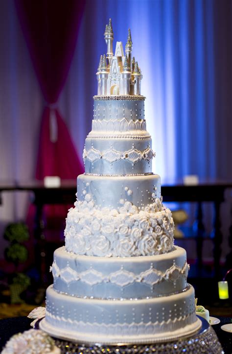 Wedding Reception Cakes by This Cinderella Castle Wedding Cake Will Command Attention