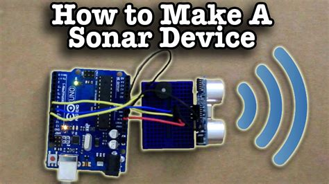 how to build a building how to make a sonar device youtube
