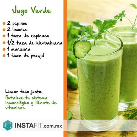 Jugos Detox Recetas by Jugo Verde Saludable