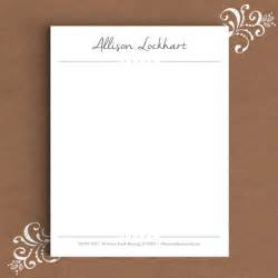 Free Stationery Templates Word by 13 Letterhead Templates Free Sle Exle Format
